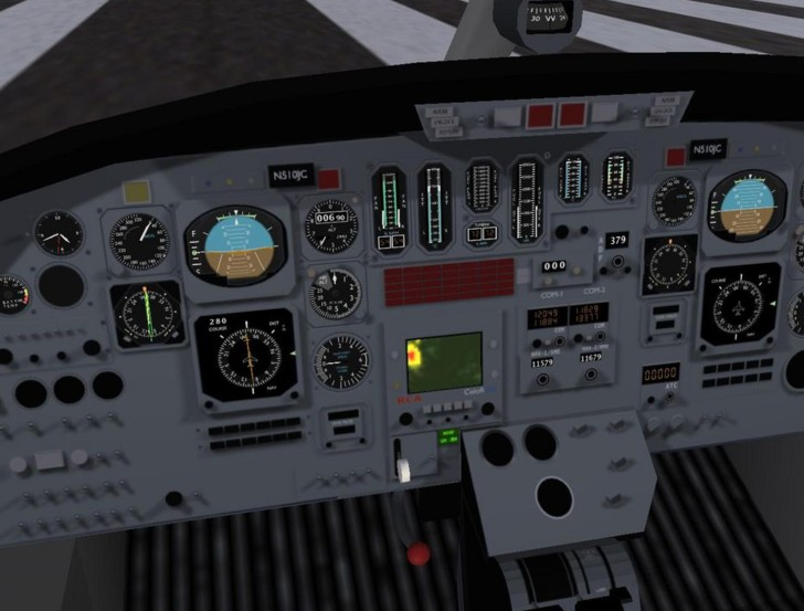 flightgear12 FlightGear, simulatore di volo open source