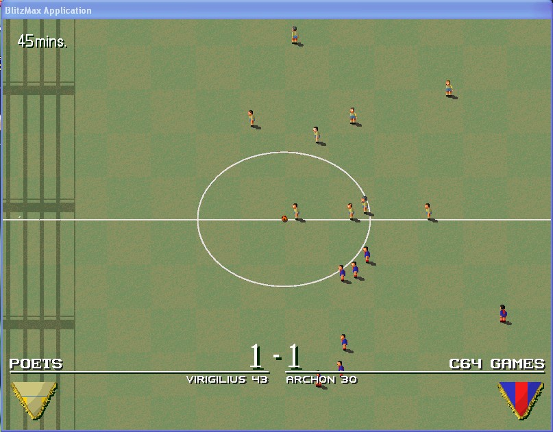 yoda_calcio11 Yoda Soccer, gioco del calcio gratuito ed Open Source per Windows, Linux e MacOS