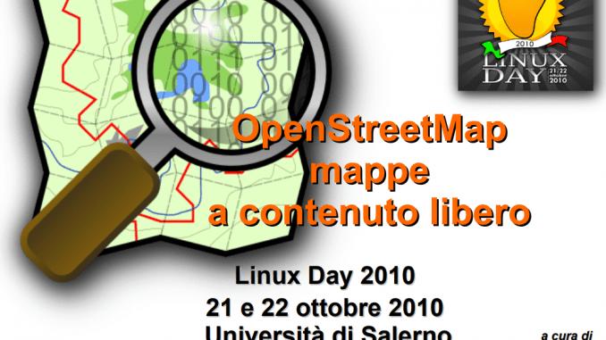 OpenStreetMap, mappe a contenuto libero