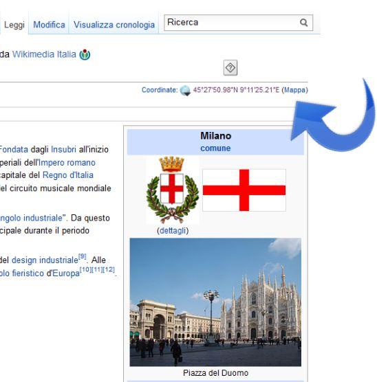 Particolare-dove-cliccare-per-vedere-su-Wikipedia-la-mappa-OpenStreetMap Wikipedia & OpenStreetMap: Le mappe del progetto OpenStreetMap visibili anche sulle pagine in italiano dell'enciclopedia libera e gratuita