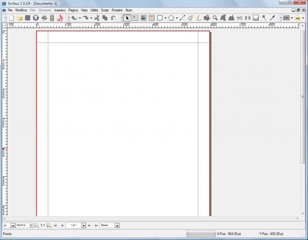 scribus-1024x797 Scribus - DTP (Desktop Publishing) - programma open source per creare giornali o pubblicazioni