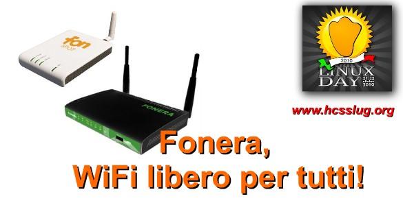 Fonera, wifi libero per tutti.