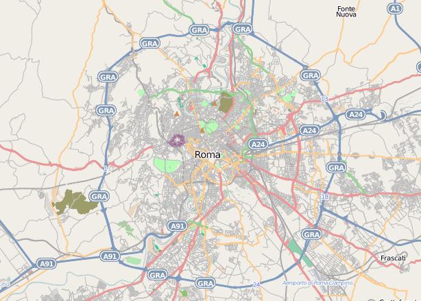 Mappa del progetto OpenStreetMap