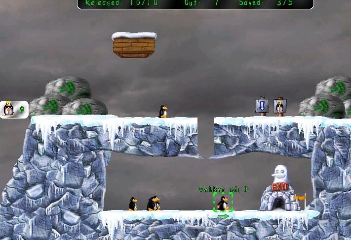 fasedelgiocopingus Pingus, videogioco open source ispirato al più celebre Lemmings
