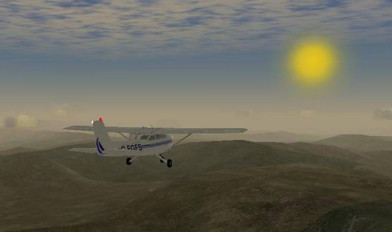 flightgear11 Eeepc: I migliori videogiochi open source (gratis) per il gioiello di casa Asus con sistema operativo Windows Xp e Linux