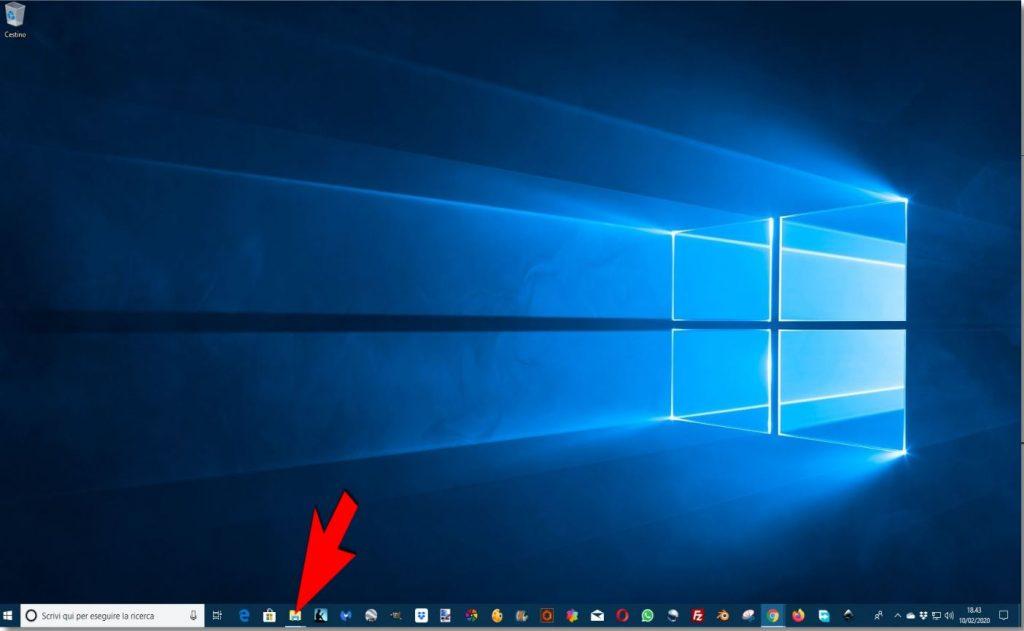 Cartelle-1024x631 Come si vede la memoria RAM di un PC con sistema operativo Microsoft Windows 10